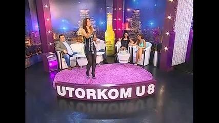 Natasa Djordjevic - Briga me - Utorkom u 8 - (TvDmSat 2013)