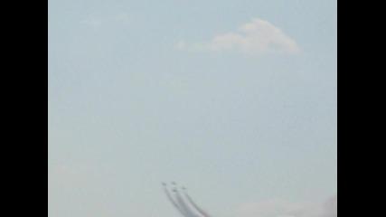 Буревестници - авиошоу в Граф Игнатиев