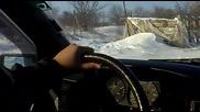 Данчо с Mercedes 190e