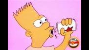 The Simpsons Shorts ep.06 - Състезание по оригване