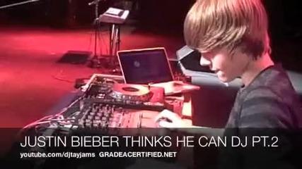 Justin Bieber e Dj - смях