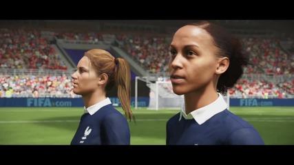 Fifa 16 Trailer - Женски национални футболни отбори във Фифа 16