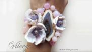 8 Актуални бижута за Есента с винтидж гривни от естествен камък за жени и нова есенна колекция
