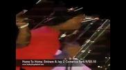 Част От Взривяващия Концерт На Eminem & Jay - Z (drake, 50cent, Jeezy, Trick - Trick, D12) )