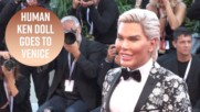 Human Ken doll tries to redeem himself at Venice after Big Brother fiasco