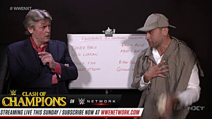 Fandango's bizarre pitch to Mr. Regal: NXT Takeoff to TakeOver, Sept. 23, 2020