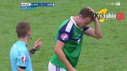 Северна Ирландия 0 - 1 Германия ( 21/06/2016 ) ( Евро 2016 )