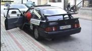 Антилаг - Ford Sierra Rs Cosworth