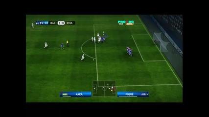 Pes 2010 : Barcelona 7:0 Real Madrid