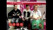 Изумруд пея много смешна песен в тв предаване [smex] -=господари на ефира 14.05.2008=-