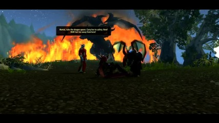 World of Warcraft Cataclysm Alexstrasza vs Deathwing