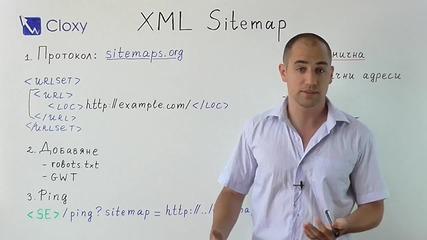 Xml карта на сайта sitemap.xml по Schema.org