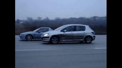 Peugeot 307, Vw Golf I 1, 8turbo I Honda Crx Del Sol