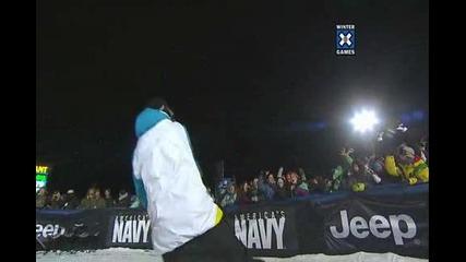 Тройно салто - Winter X Games 15 - Torstein Horgmo Triple Cork