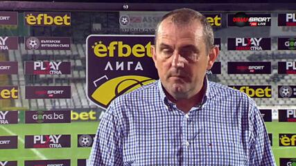 Загорчич: Много съм ядосан и ще говоря с момчетата