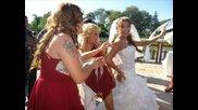 Снимки от сватбата на Роксана и Калин