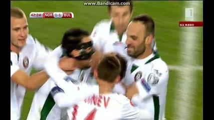 Норвегия 2:1 България (бг аудио)