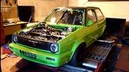 Golf Mk2 20v 756.6 hp