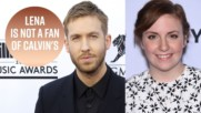 Lena Dunham calls Calvin Harris 'petty' post Taylor Swift break up