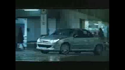 Реклама На Peugeot 206 Cc