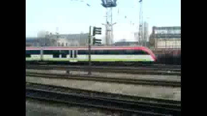 Новите Siemens Емв На Централна Гара София