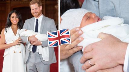 Меган Маркъл и принц Хари показаха бебето! Уникално сладко е, вижте го!