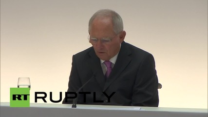 Germany: FM Schaeuble vows G7 support for Ukrainian economic reforms