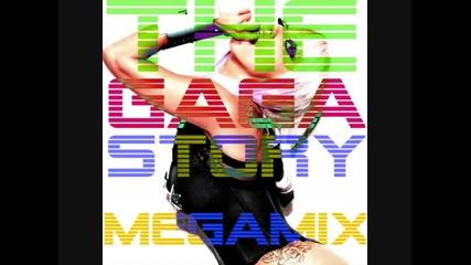 Lady Gaga - The Gaga Story Megamix 2009