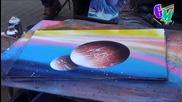 Very Amazing Spray Painting (barcelona 2014) La Rambla™