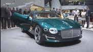 Триумфът на Bentley: Exp 10 Speed 6 - Live at 2015 Geneva Motor Show
