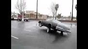Кола с хидравлики кара на три колела