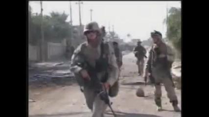 Combat Marines Just Dance to Lady Gaga
