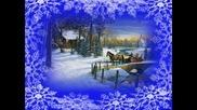 Вятарът снежинки гони