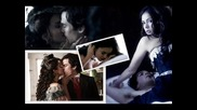 The Vampire Diaries:damon X Elena (bad boy)