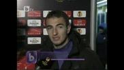 Левски - Спортинг 1:0 Лига Европа 16.12.2010г