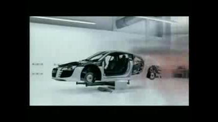 Реклама На Audi R8 Quattro