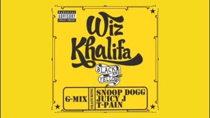 Wiz Khalifa - Black And Yellow Ft. Snoop Dogg, Juicy J, & T - Pain [g - Mix]