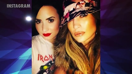 Jennifer Lopez Gushes Over Rhianna and Demi Lovato