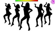 Kpop random Game Guess The Choreography Silhouette