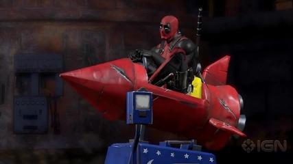 Трейлър на Deadpool: The Game