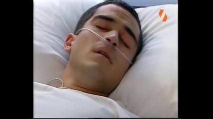 *428еп.* Миа и Мигел разговарят в болницата