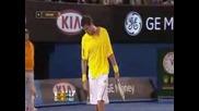 Roger Federer vs Marat Safin. Australian Open 2009