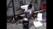 Уличен Барабанист В Ню Йорк Част2