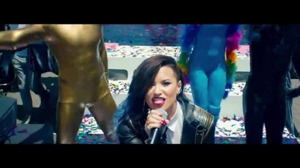 / Премиера 2014 / Demi Lovato ft. Cher Lloyd - Really Don't Care ( Official Video )