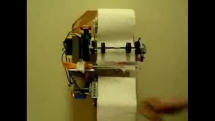 Машина за късане на тоалетна хартия