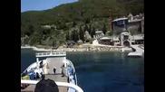 Ouranoupoli Agion Oros - Eikones apo to ferry boat