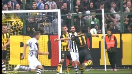 ВИДЕО: Вторият гол за Ботев в дербито на Пловдив