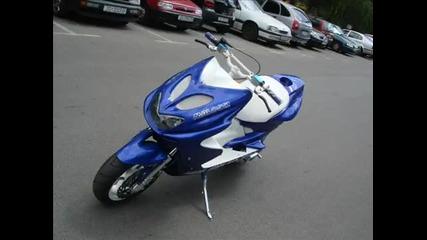 Проект - Yamaha Aerox 70cc