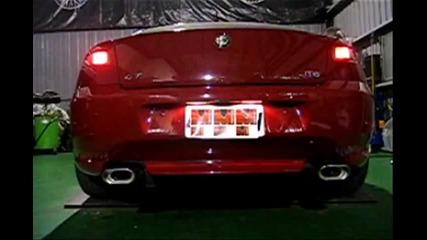 Alfa Romeo Gt Jts - exhaust sound