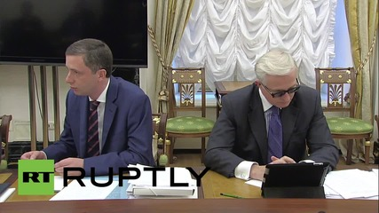 Russia: Putin announces 200,000 strong 'National Investment Climate' review